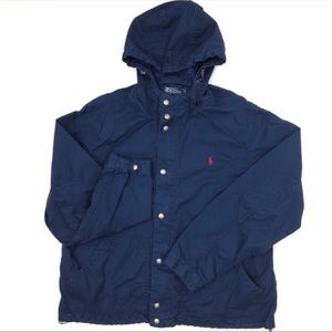 Polo by Ralph Lauren Hooded Jacket Navy Med G257
